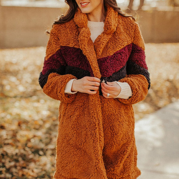ensley sherpa coats | 3 colors