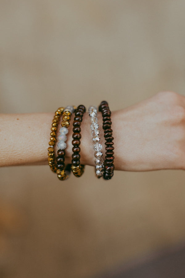 chelsey five piece stretch stack