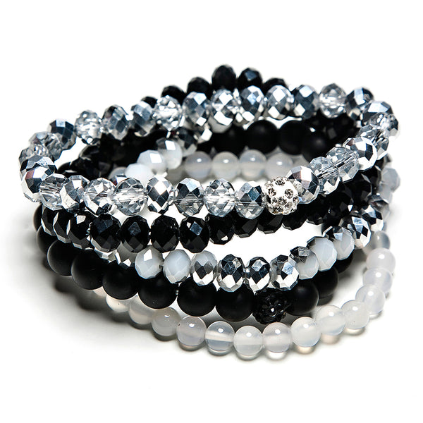 isla five piece stack in onyx