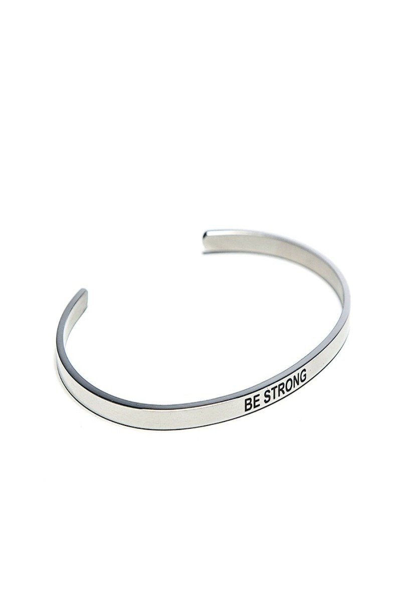 be strong bracelet cuff