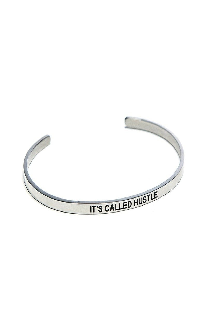 it's called hustle bracelet cuff
