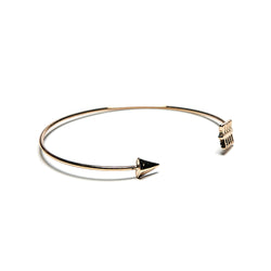 golden arrow bracelet cuff