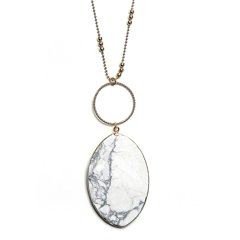 sadie stone pendant in granite