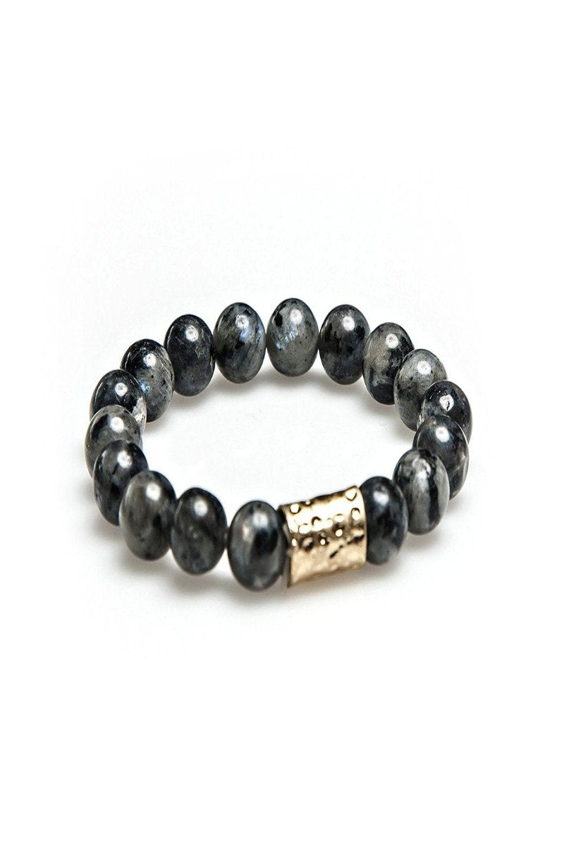 stevie bead bracelet in navy