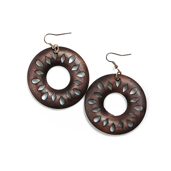madelyn wooden sunburst hoops