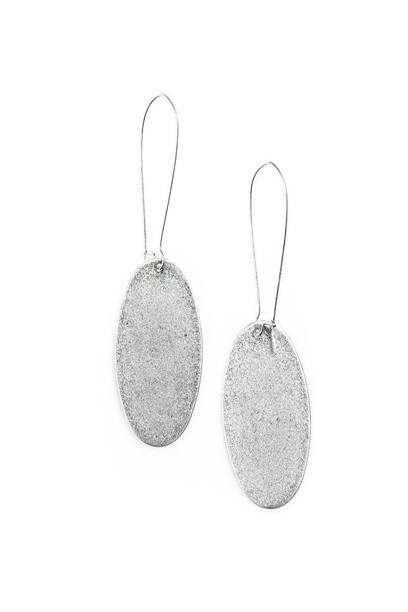 hadley sandstone silver earrings