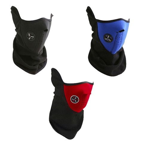 Fleece ski masks- 3 colors