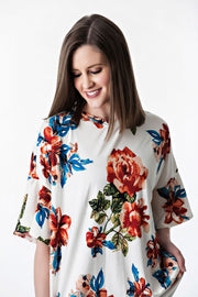 Bell Sleeve Floral Tunic | 3 colors