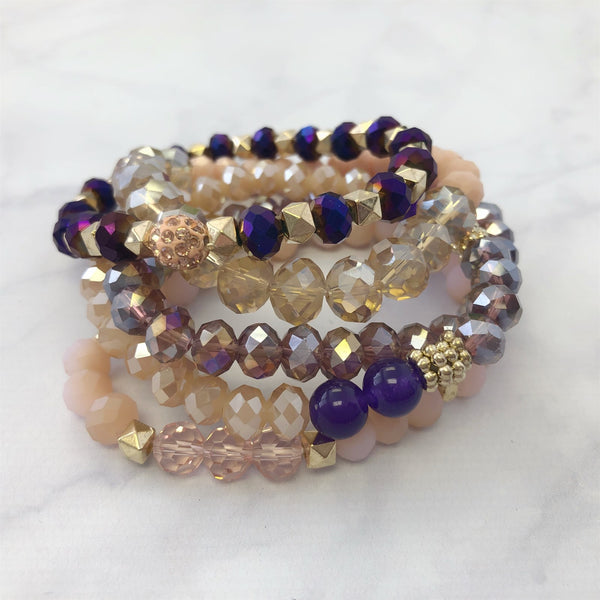 Beads and Baubles Stretch Bracelets | 7 options