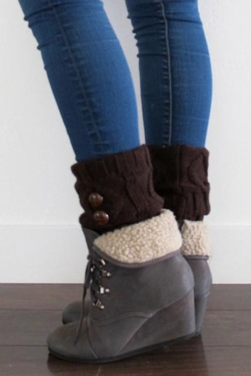 Button Boot Cuff