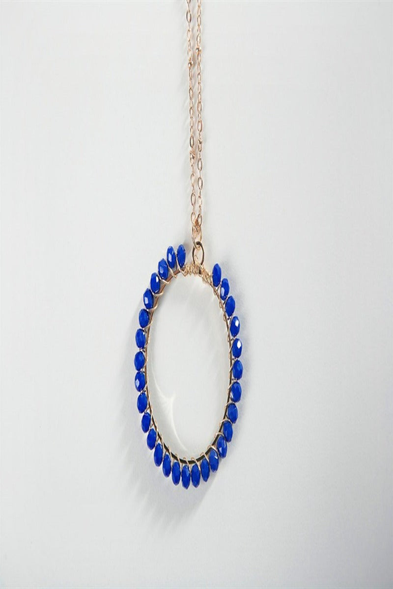 Simple Circle Beaded Necklace