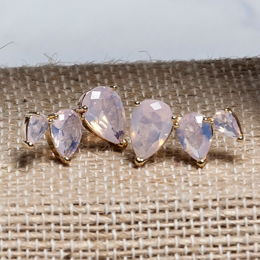 Crystal Crawler Earrings | 3 Colors