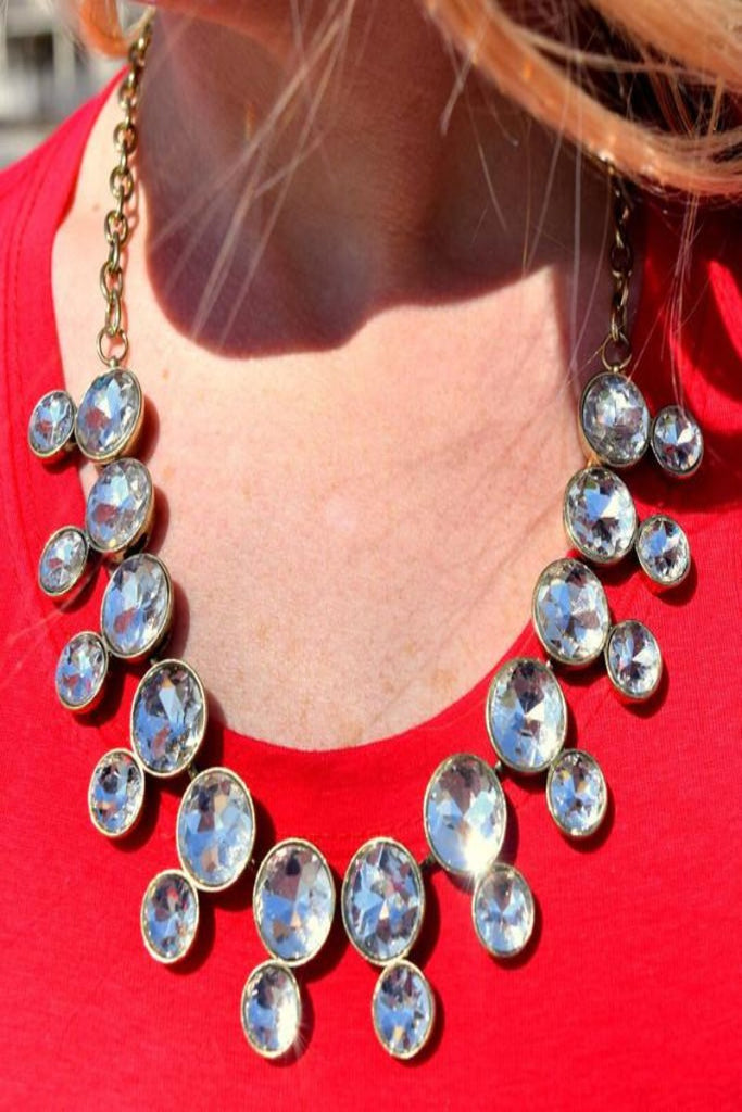 Crystal Lenore Necklace
