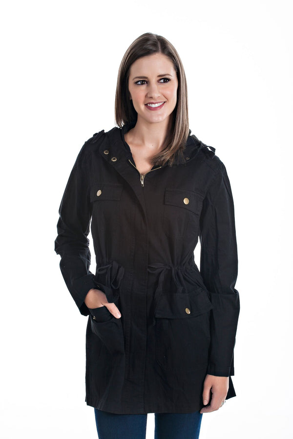 Essential Hooded Fall Utility Jackets - 3 Colors!