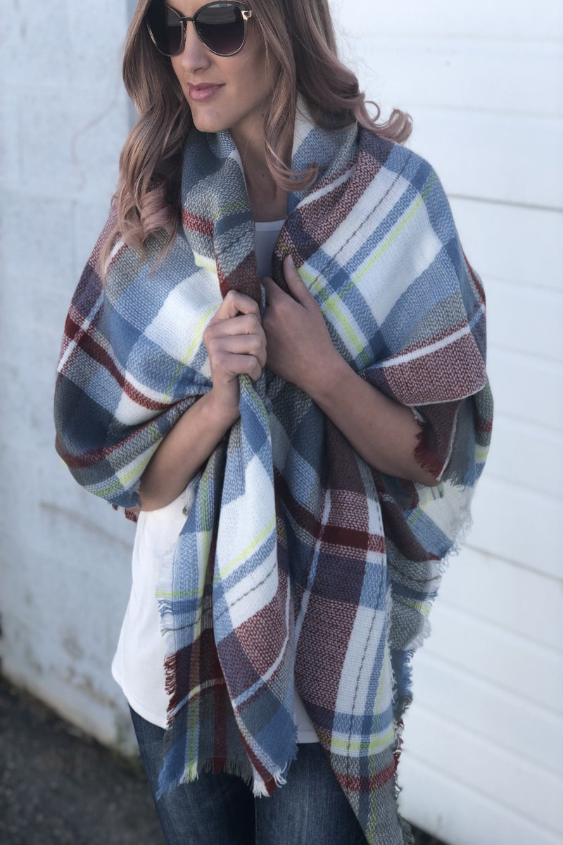 Luxe Blanket Scarves