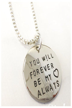 Forever My Always Inspirational Necklace