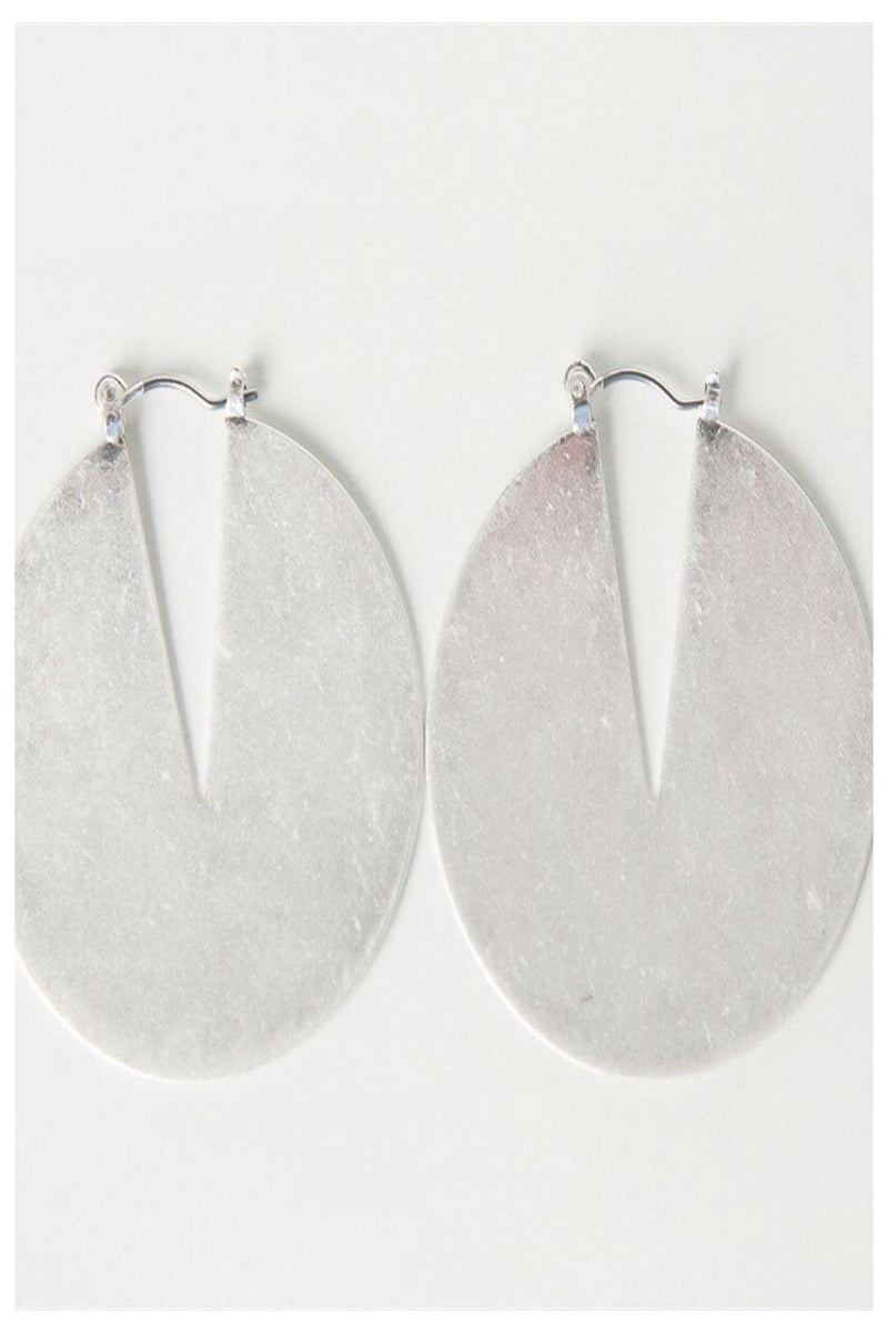 Modern Matte Metal Earrings
