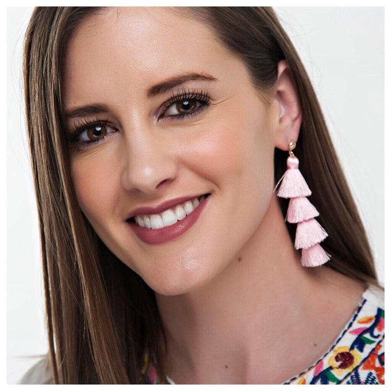Trending Fringe Drop Tassel Earrings