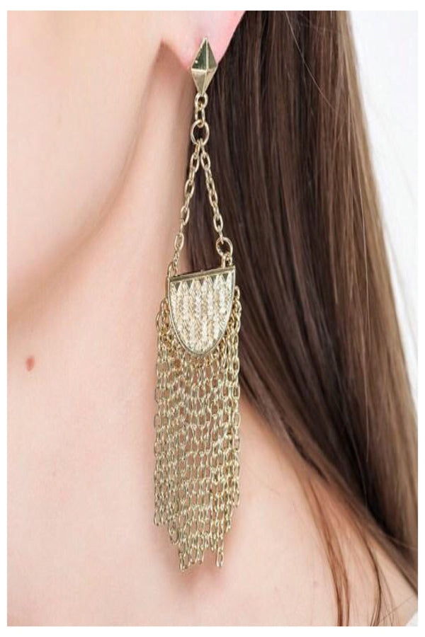 Large Full Fringe Boutique Earrings | 3 Styles