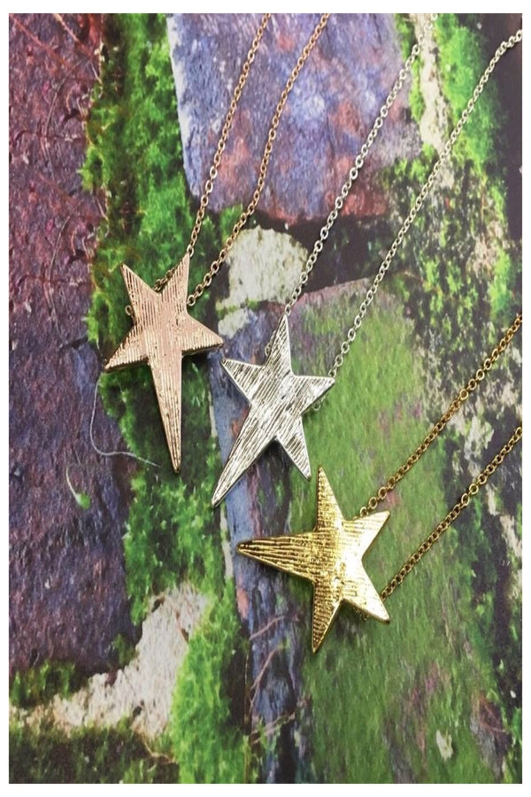 Simple Star Necklace | 3 Colors
