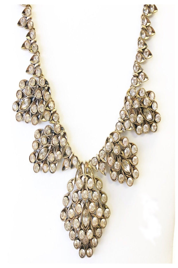 Honeycomb Statement Necklace