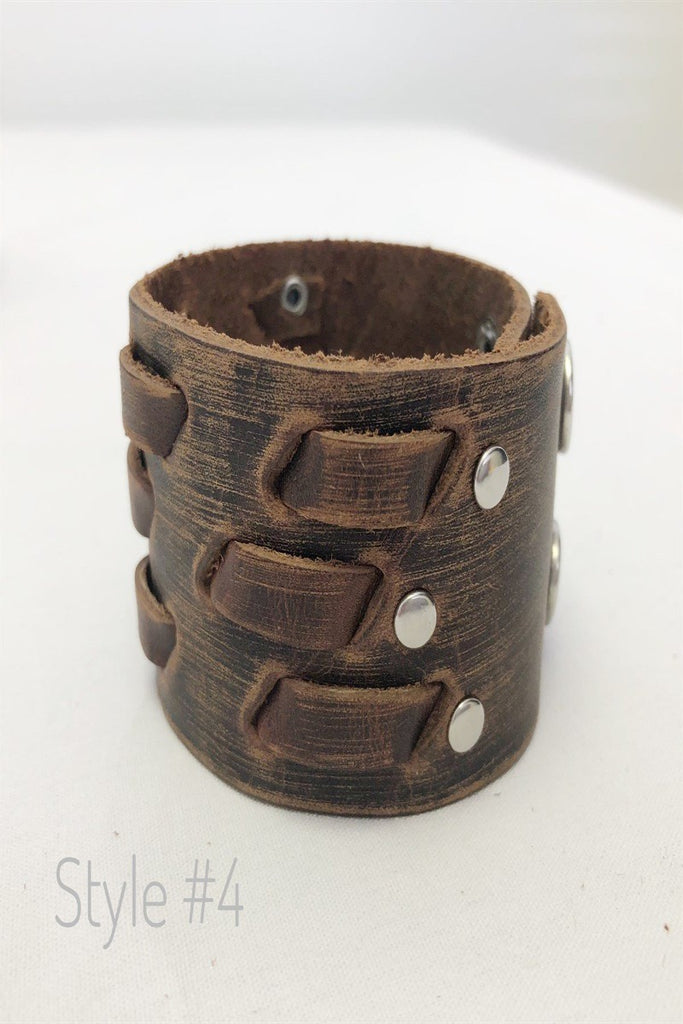Leather Cuff Collection