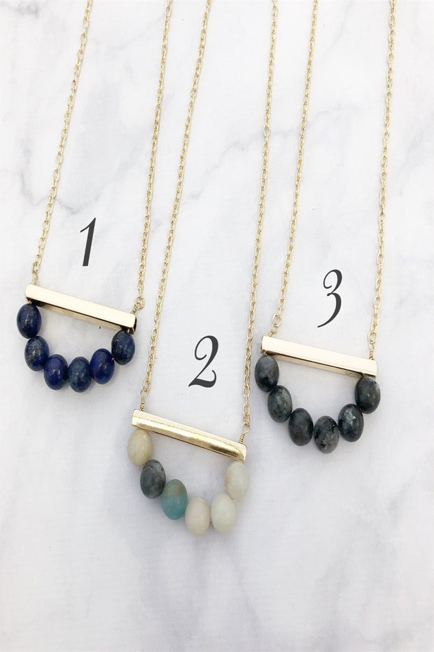 Pretty Pebbles Necklace Collection