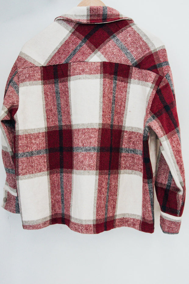 taylor flannel shacket