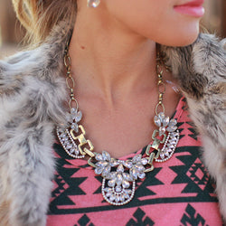 Crystal Glam Necklace