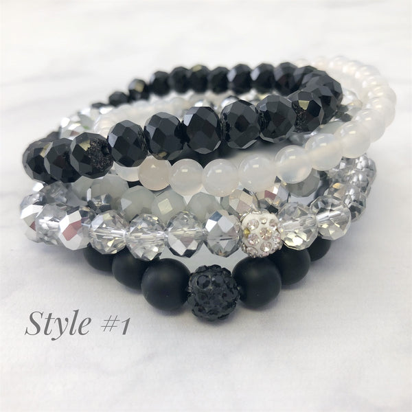 Styled Stretch Bracelet Sets