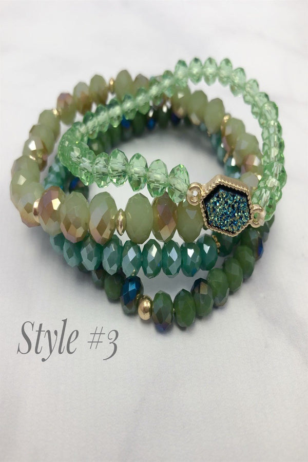 Stackable Stretch Bracelet Sets | 8 Styles!