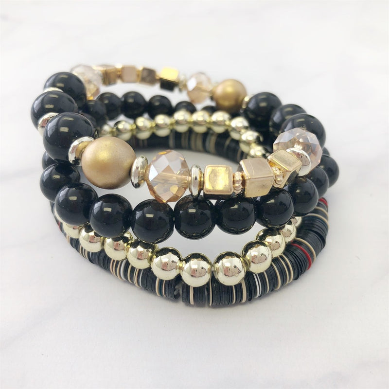 Beautiful Bead Stretch Bracelets