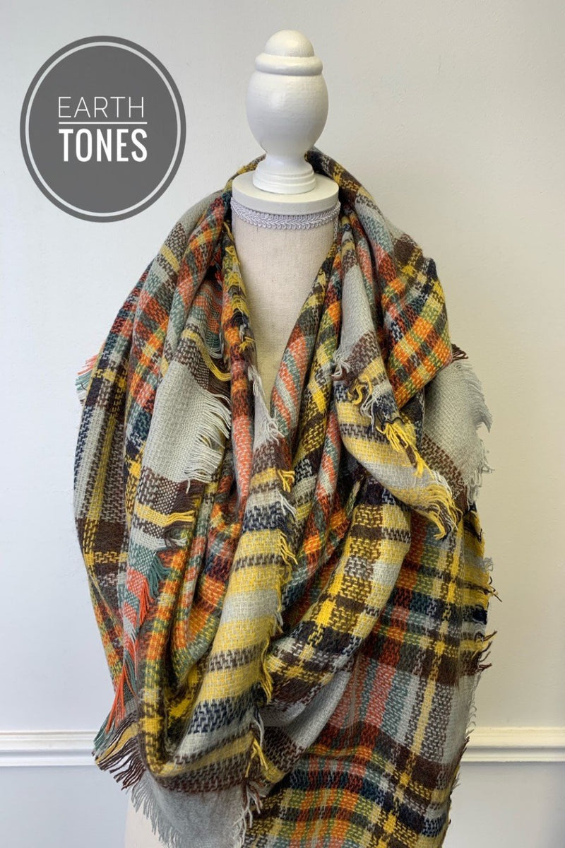 luxe blanket scarves | 15 styles