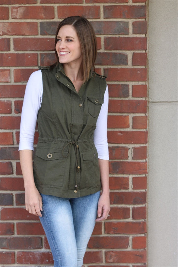 Fall Utility Vest | Extended Sizes | 4 Colors
