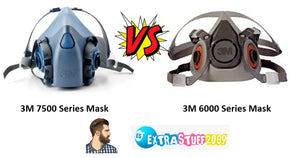 3M 7500 vs 3M 6000 Series Respirators