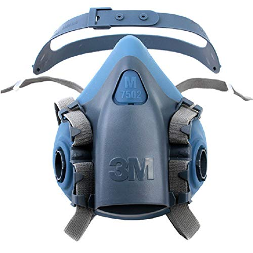 3M 7502 Medium Half Facepiece Reusable Respirator Mask