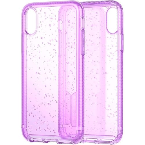 Tech21 Pure Soda Phone Case Cover for Apple iPhone X/iPhone Xs - Orchid