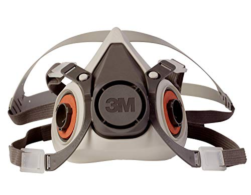 3M 6100 Half Facepiece Reusable Respirator Mask (Small)