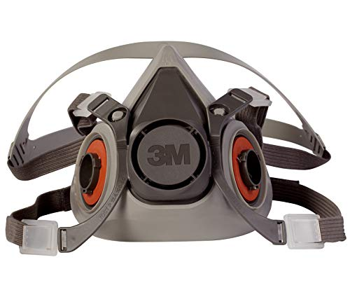 3M 6200 Half Facepiece Reusable Respirator Mask (Medium)