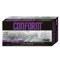 Ansell Conform 69-210 Latex Glove Powdered Disposable 5 mil X Large (Pack of 100)