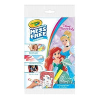 Crayola Color Wonder Mess Free Coloring Kit Disney Princess, Ages 3-6 Years