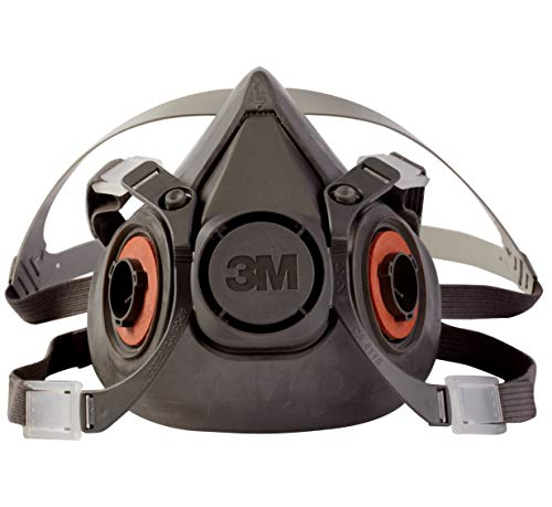 3M 6300 Large Half Facepiece Reusable Respirator Mask