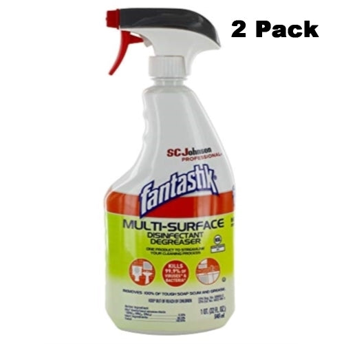 Fantastik Multi-Surface Disinfectant Degreaser 32 oz Trigger (Pack of 2)