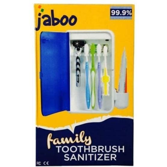 Jabbo Family Toothbrush UV Sanitizer Sterilizer Wall Mounted - extra-stuff-2009