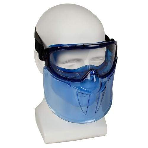 Jackson Safety 18629 V90 Goggle and Faceshield, Standard, Clear with Blue Tint+ - extra-stuff-2009