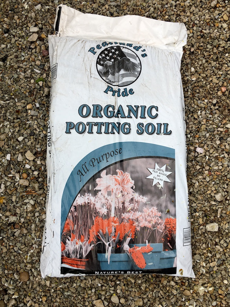 Organic Potting Soil.75 cu. ft.