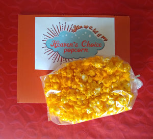 Wisconsin Cheddar Cheese Popcorn