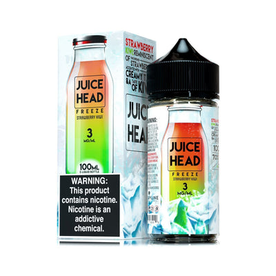 JUICE HEAD FREEZE | Strawberry Kiwi 100ML eLiquid - Vaping Industries