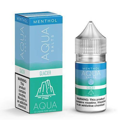 AQUA SALTS MENTHOL | Glacier Ice 30ML eLiquid - Vaping Industries
