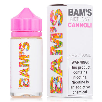 Bam's Cannoli | Birthday - 100ml - Vaping Industries
